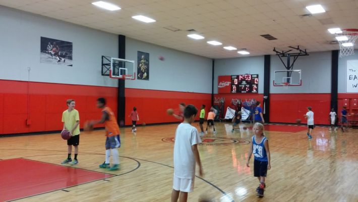 2016 Basketball Camp Practice