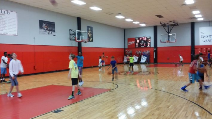 2016 July Basketball Camp Floor Work